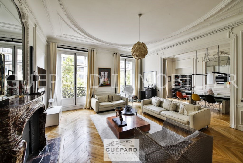 Deluxe sale apartment Paris 17ème 2 790 000€ - Picture 1