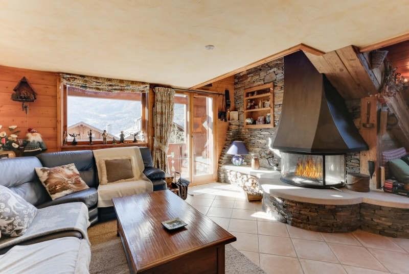 Deluxe sale apartment Meribel 750000€ - Picture 1