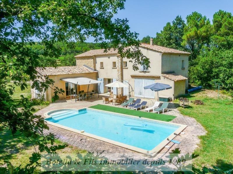 Verkoop van prestige  huis Uzes 470000€ - Foto 1