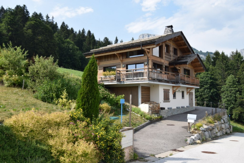 Vente de prestige maison / villa Grand bornand 980 000€ - Photo 1