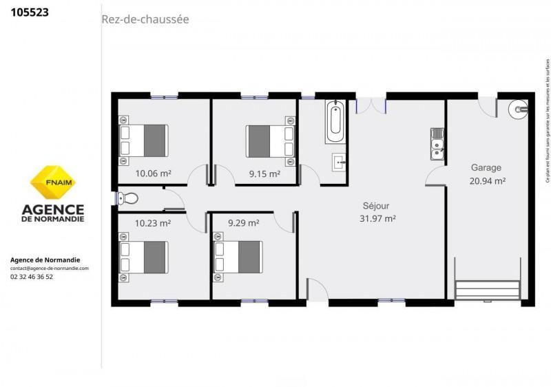 Investment property house / villa Montreuil-l'argillé 99000€ - Picture 5
