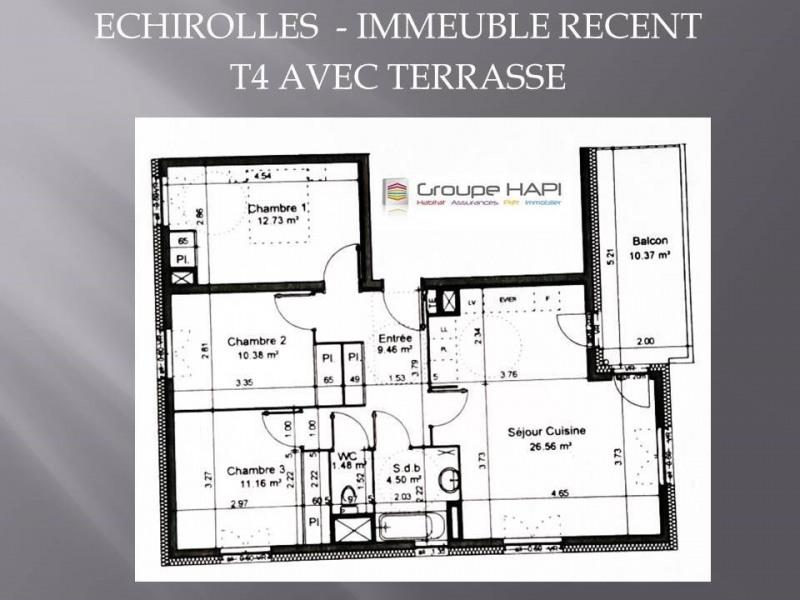 Verkauf wohnung Échirolles 147000€ - Fotografie 3