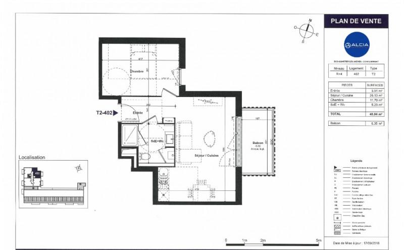 Sale apartment Lormont 162000€ - Picture 2