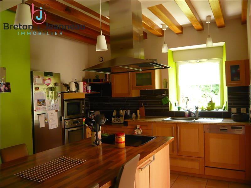 Sale house / villa Quelaines st gault 374400€ - Picture 5