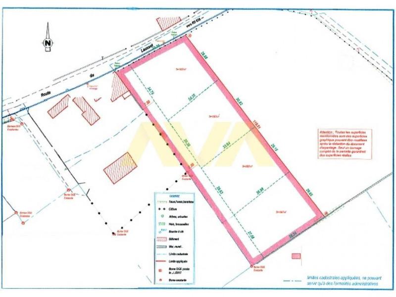 Venta  terreno Navarrenx 91000€ - Fotografía 2