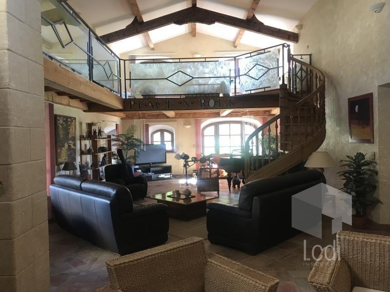 Vente de prestige maison / villa La bégude-de-mazenc 1495000€ - Photo 4