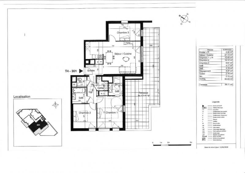 Vente appartement Tours 299000€ - Photo 6