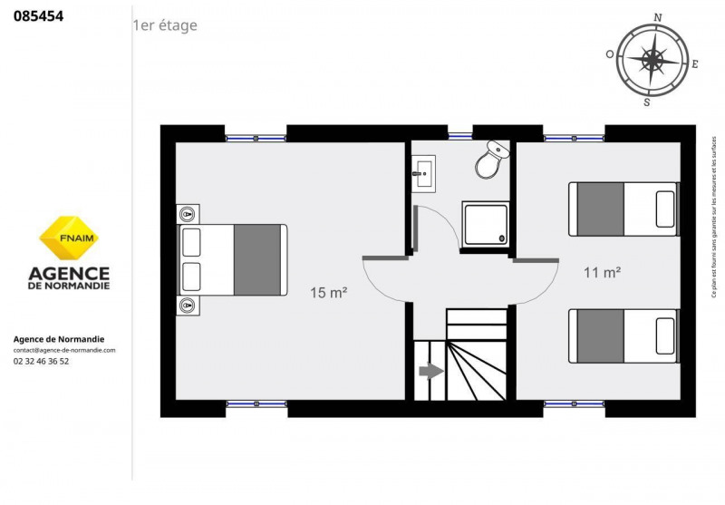 Vente maison / villa Montreuil-l'argille 75000€ - Photo 11