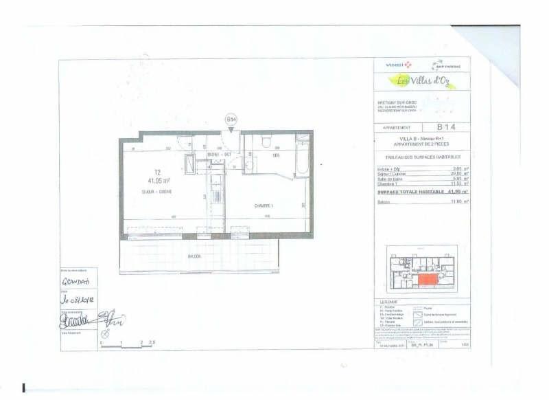 Alquiler  apartamento Bretigny sur orge 772€ CC - Fotografía 1