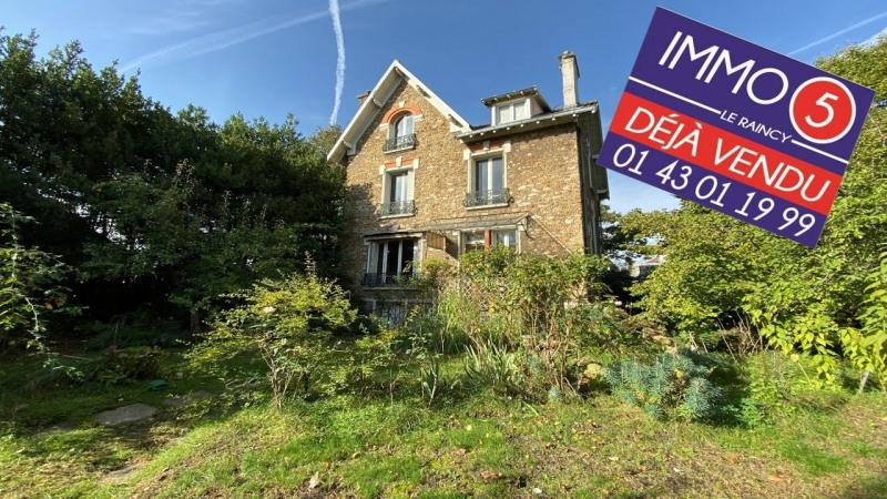 Sale house / villa Le raincy 975000€ - Picture 1