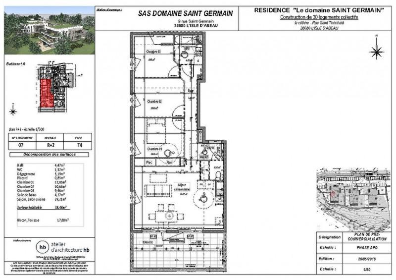 Vente appartement L isle d'abeau 239000€ - Photo 3