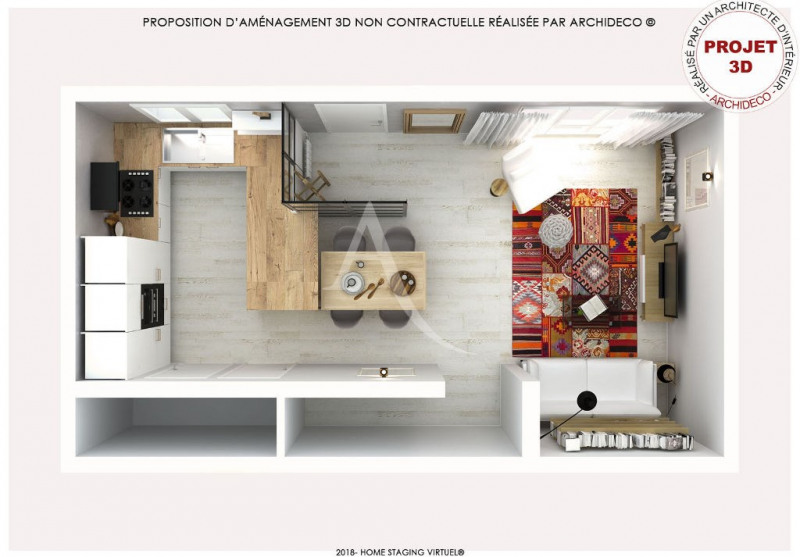 Vente maison / villa Colomiers 220000€ - Photo 8