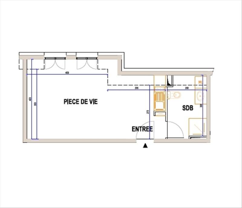Verkoop  appartement L isle adam 180000€ - Foto 1