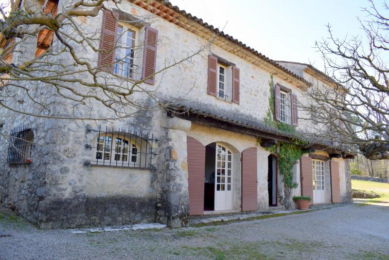 Venta de prestigio  casa Fayence 1260000€ - Fotografía 3