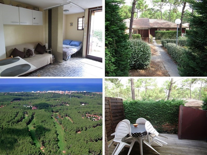 Location vacances maison / villa Lacanau ocean 299€ - Photo 1