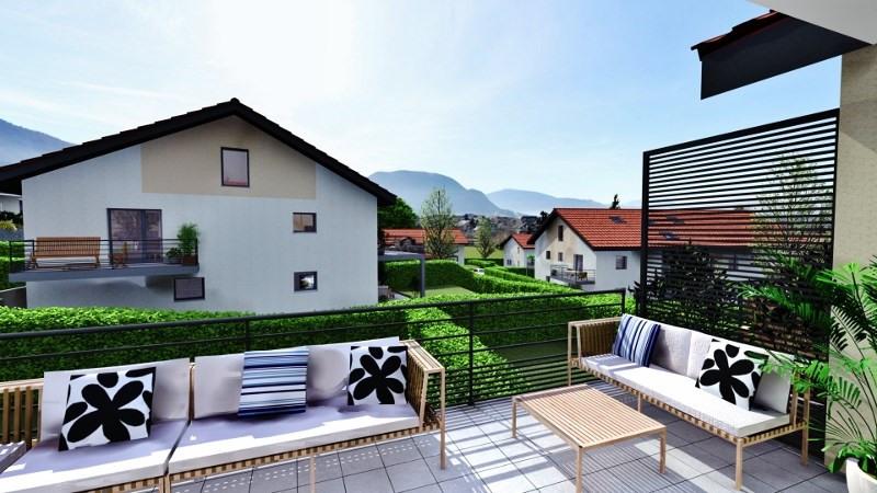 Sale apartment Villaz 301000€ - Picture 2
