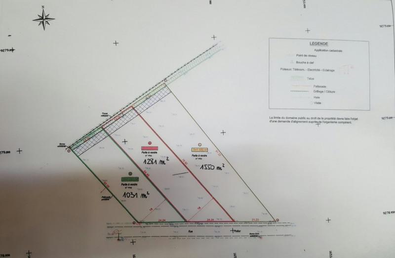 Vente terrain Wardrecques 59500€ - Photo 1