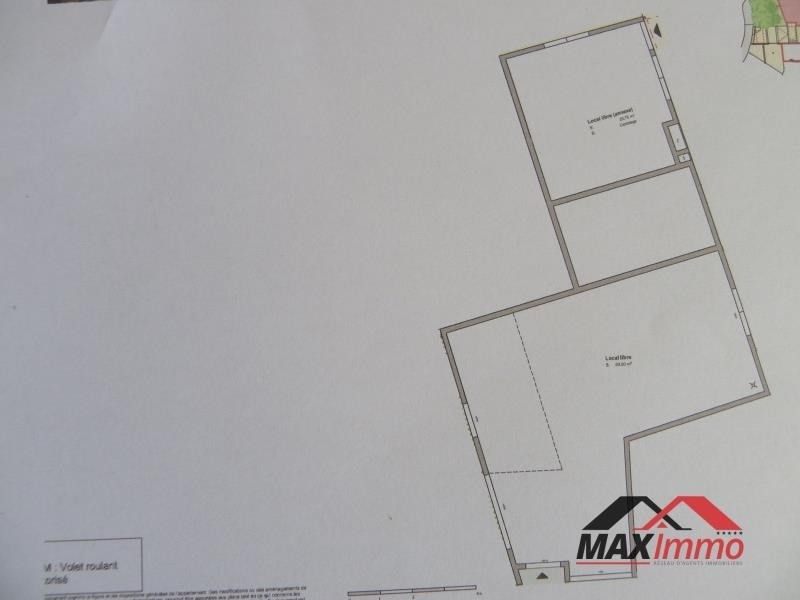 Vente local commercial Les avirons 148850€ - Photo 1