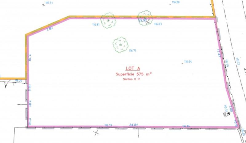Terrain Pommeuse 575 m²