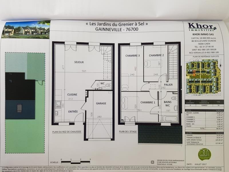 Vente maison / villa Gainneville 176700€ - Photo 2