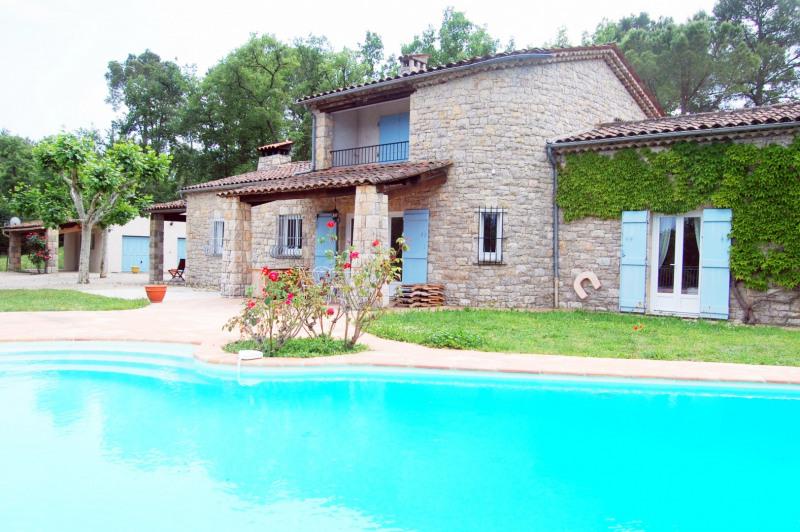 Immobile residenziali di prestigio casa Fayence 840000€ - Fotografia 4
