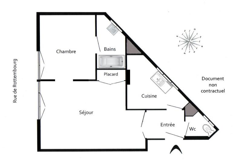 Location appartement Paris 12ème 1064€ CC - Photo 3