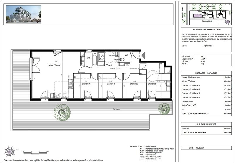 Vente appartement Toulouse 430000€ - Photo 4