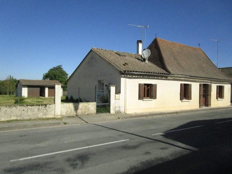 Vente maison / villa Echourgnac 107000€ - Photo 1