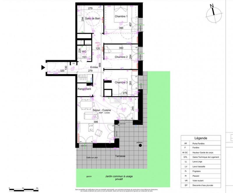Sale apartment Villeurbanne 465900€ - Picture 4