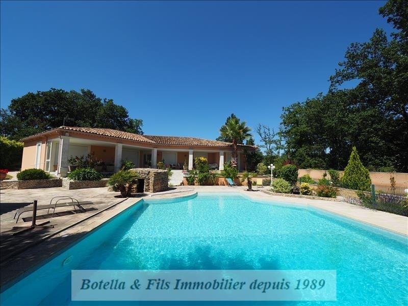 Verkoop van prestige  huis Uzes 495000€ - Foto 1