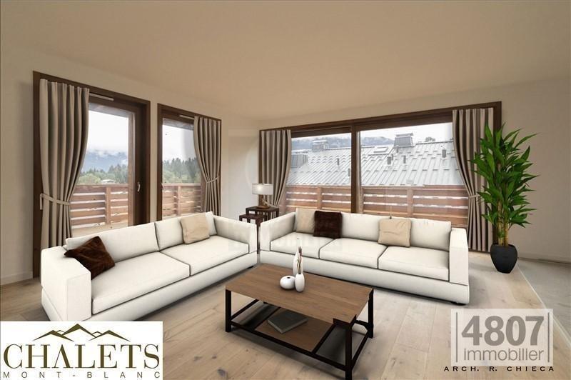 Vente de prestige appartement Combloux 738300€ - Photo 3