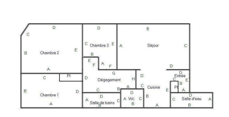 Rental apartment Versailles 1215€ CC - Picture 8
