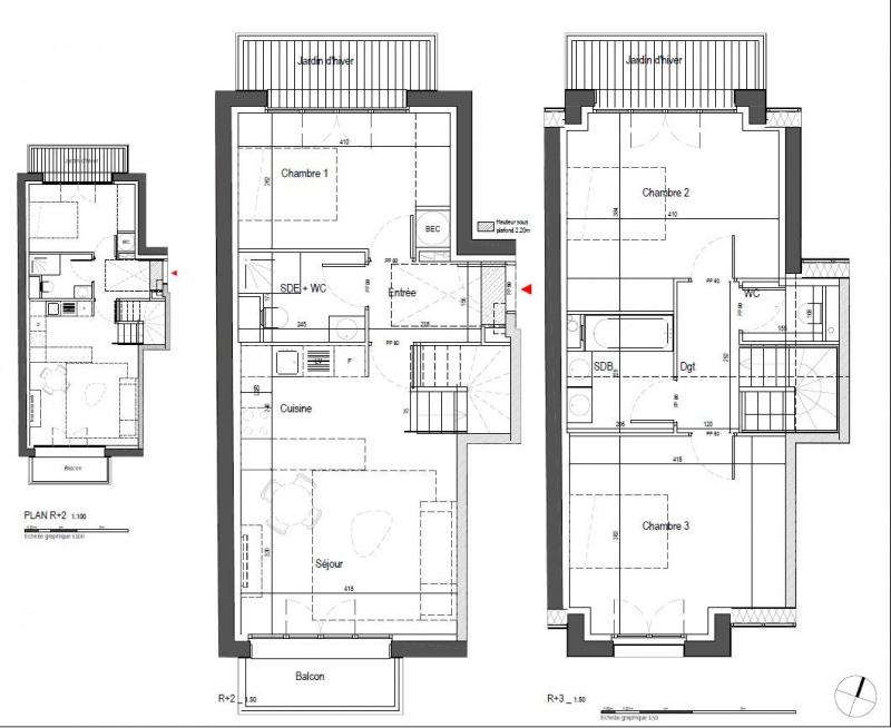 Vente appartement Clamart 499000€ - Photo 9