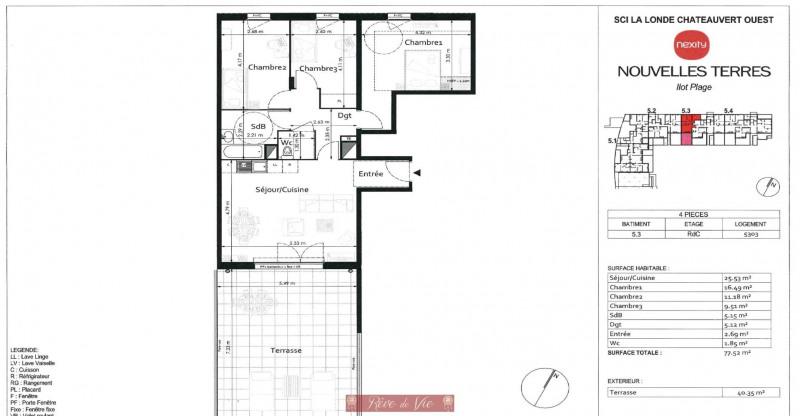 Deluxe sale apartment La londe les maures 318000€ - Picture 2