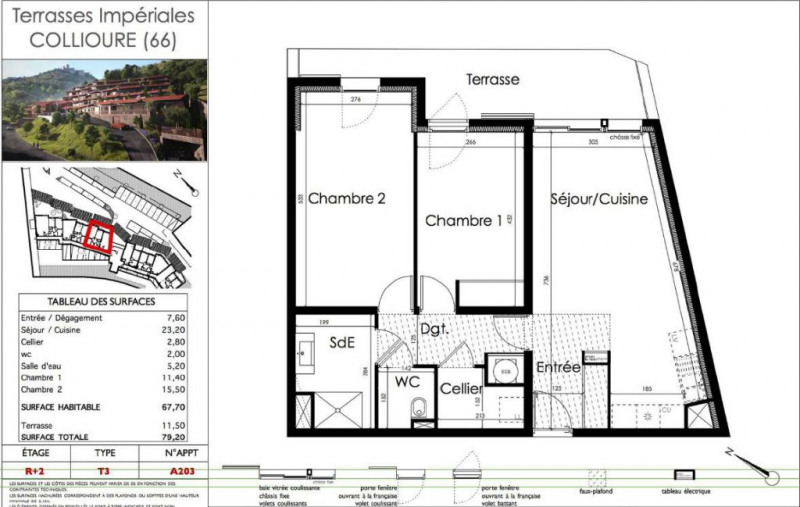 Sale building Collioure 433 800€ - Picture 2