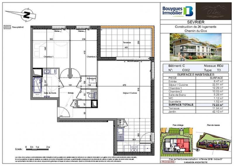 Sale building Sevrier 439100€ - Picture 2