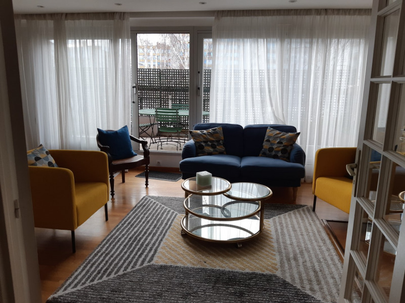 Rental apartment Paris 14ème 3550€ CC - Picture 2