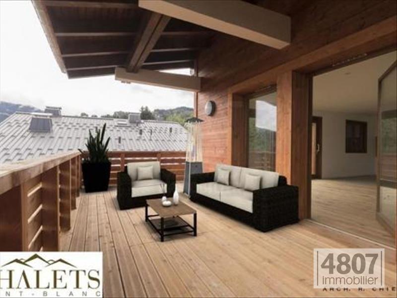 Vente de prestige appartement Combloux 738300€ - Photo 2