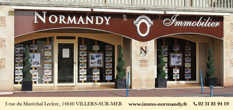 Deluxe sale apartment Villers sur mer 328 000€ - Picture 2