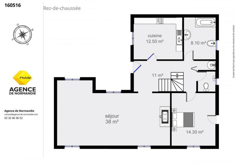 Vente maison / villa Montreuil-l'argille 160000€ - Photo 5