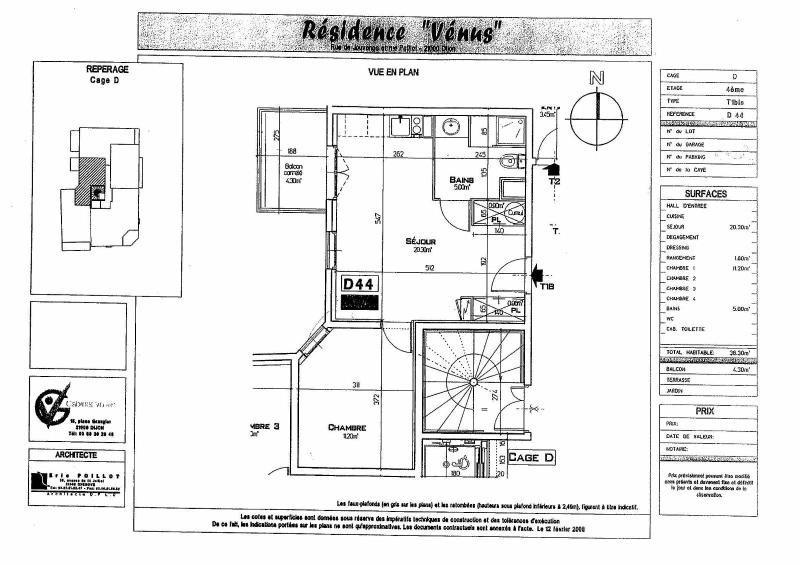 Location appartement Dijon 538€ CC - Photo 9