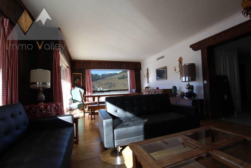 Vente de prestige appartement Megève 997500€ - Photo 2