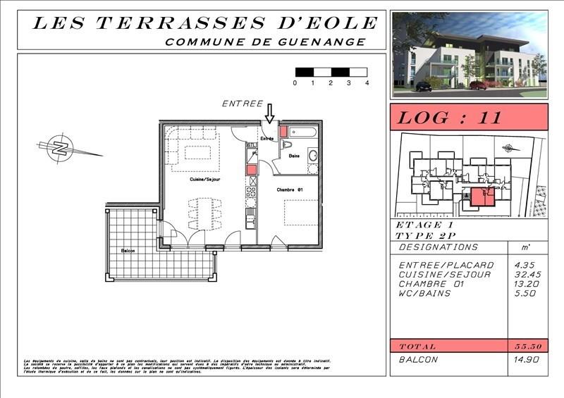 出售 公寓 Guenange 138762€ - 照片 4