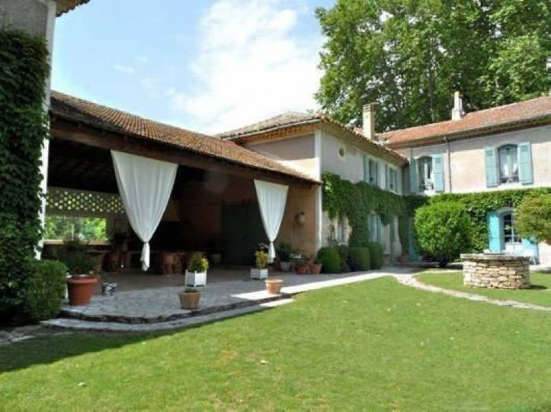 Verkoop van prestige  huis Goudargues 995000€ - Foto 3