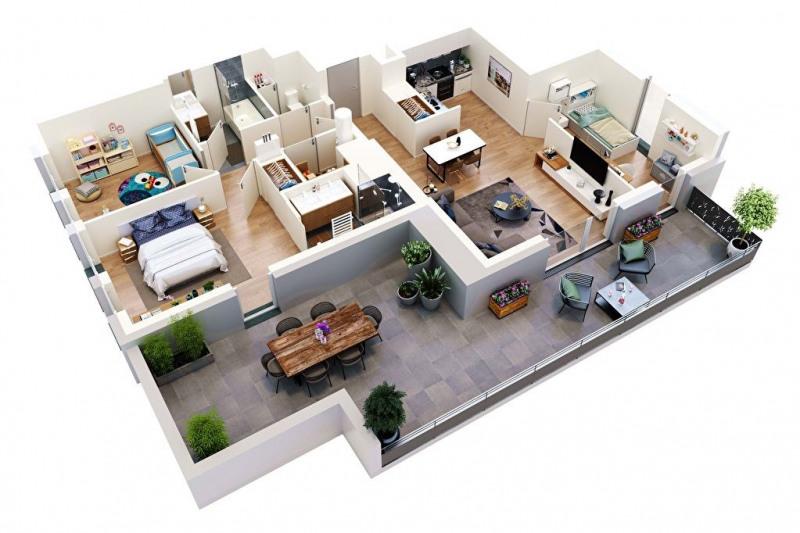 Vente appartement Tours 299000€ - Photo 5