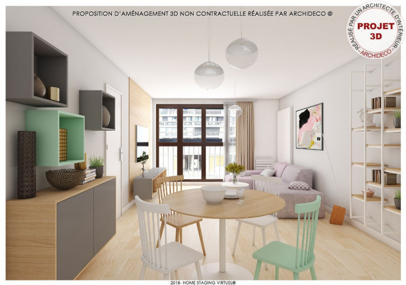 Vente appartement Colomiers 79000€ - Photo 3