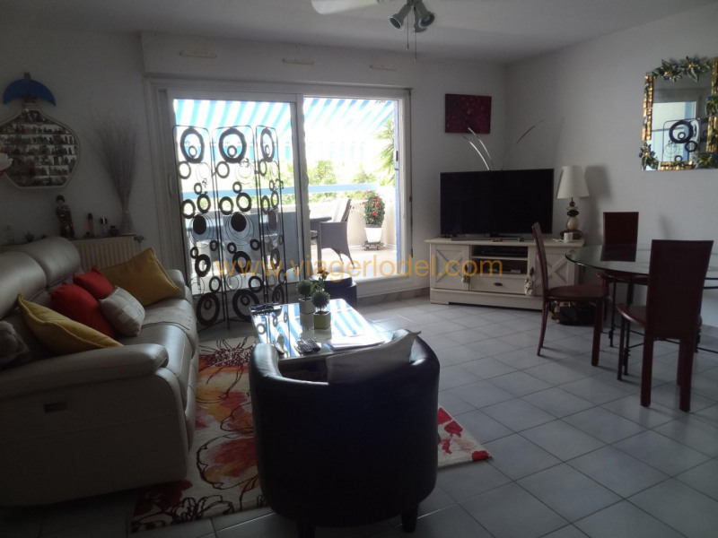 Life annuity apartment La grande-motte 37500€ - Picture 3