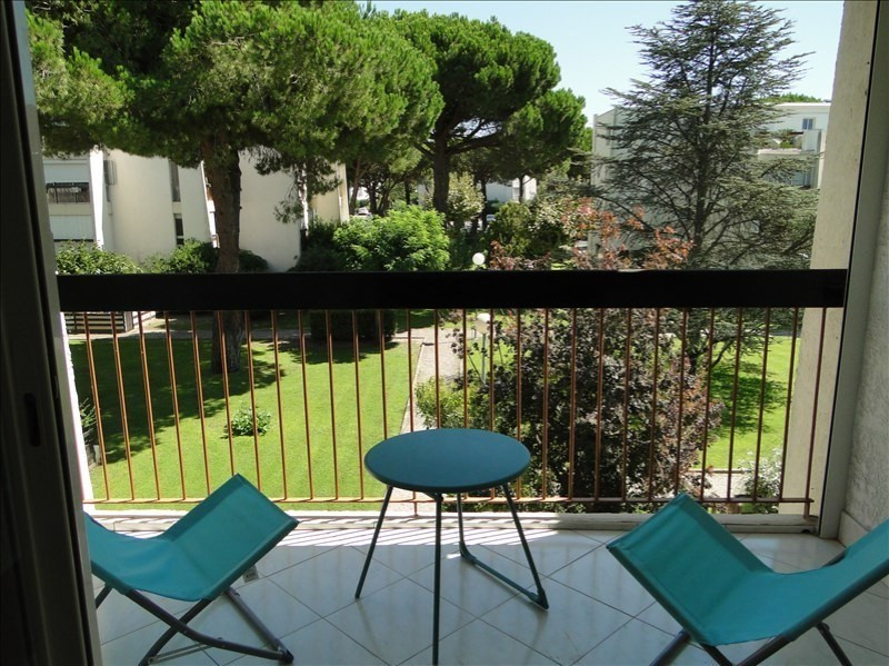 Location vacances appartement La grande motte 416€ - Photo 1