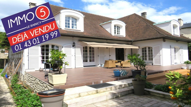 Vente maison / villa Le raincy 990 000€ - Photo 1