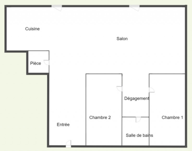 Location appartement Agen 320€ +CH - Photo 5